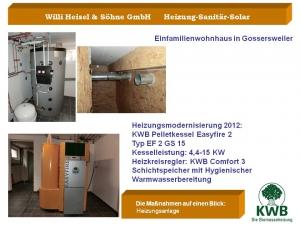Einfamilienhaus in Gossersweiler 2012