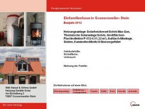 Einfamilienhaus in Gossersweiler-Stein 2012
