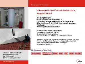 Einfamilienhaus in Gossersweiler-Stein 2011