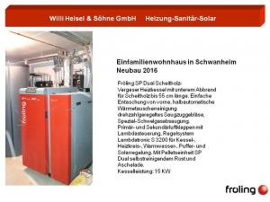 Fröling SO Dual Scheitholz-Vergaser Heizkessel