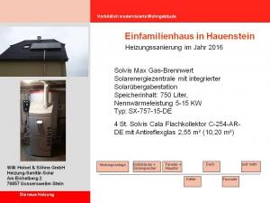 Einfamilienhaus in Hauenstein 2016