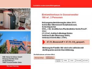 Einfamilienhaus in Gossersweiler 2011