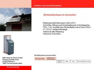 Einfamilienhaus in Annweiler 2012