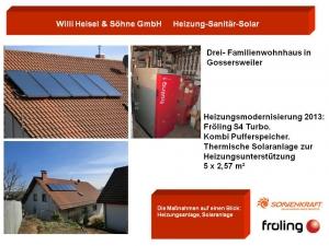 Drei-Familienwohnhaus in Gossersweiler 2013