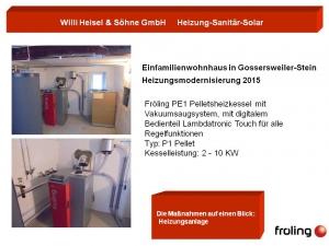 Einfamilienwohnhaus in Gossersweiler-Stein